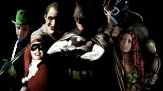 BATMAN LEGENDS featuring JOKER, BANE, NIGHTWING, and HARLEY QUINN