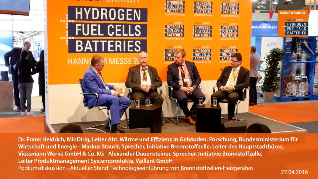Vaillant GmbH at Europe's largest hydrogen, fuel cells and