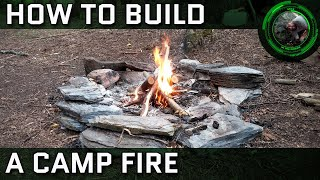 The Beginner's Guide T๐ Starting a Campfire: A How-To For Camping, Backpacking, Hiking, & Bushcraft