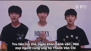 [KTX2386] [VIETSUB] VCR TFBOYS tại họp báo Tru Tiên Thanh Vân Chí