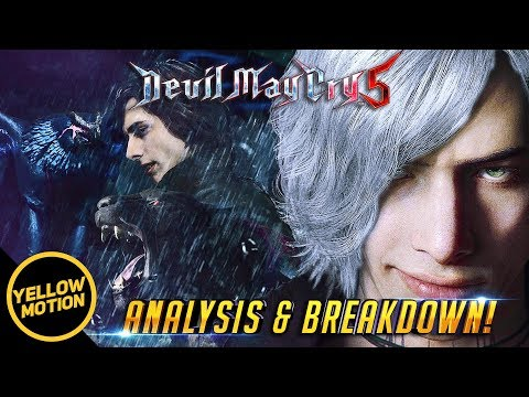 "DEVIL MAY CRY 5 ""V"" Demons Gameplay, Tattoos, Book & Devil Trigger Explained! Analysis & Breakdown thumbnail"