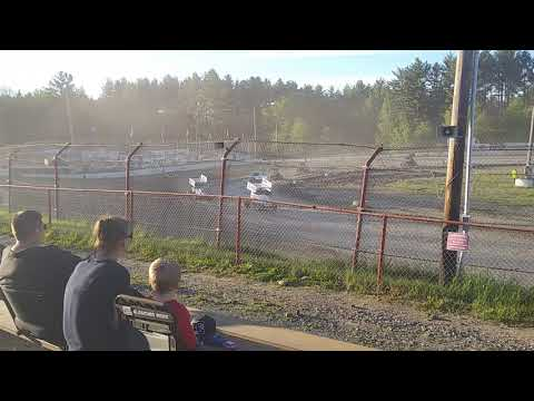 Bear Ridge Speedway Granite State mini sprint 500cc heat race B 6/8/19