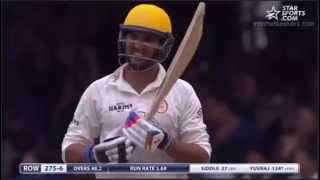 Yuvi Touch Sachin's Feet at LORDS England MCC VS ROW XI