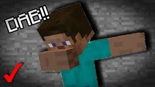 ¡Como Hacer Un DAB Sin MODS EN Minecraft 1.3! TRUCO |  Minecraft Aquatic!!