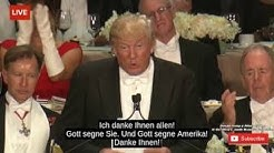 DONALD TRUMP WAHRHEITEN & SATIRE über HILLARY CLINTON Alfred E. Smith Charity Dinner