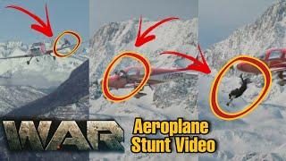 War Movie Aeroplane Stunt , Hrithik Roshan और Tiger Shroff की ...