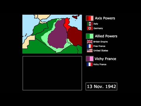 {WWII} Operation Torch (1942): Every Day