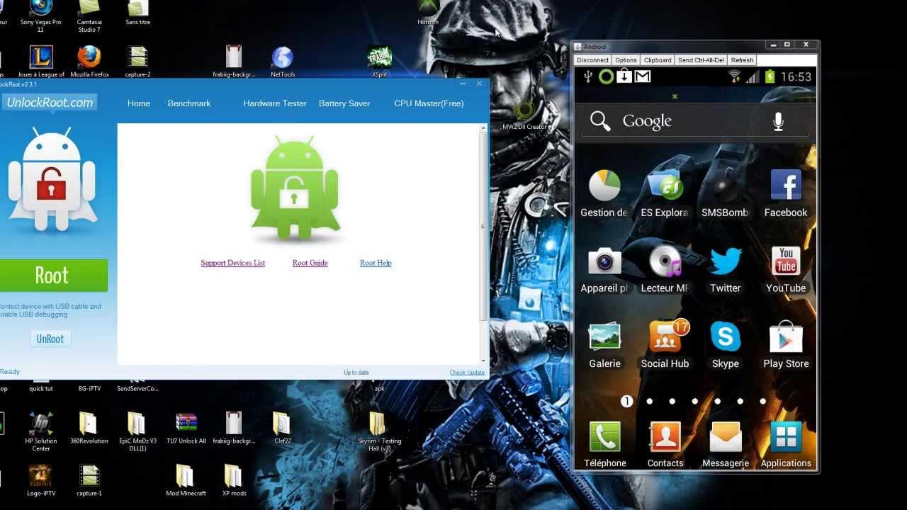 [Crack]Jailbreaker son téléphone android en 2 minutes ...