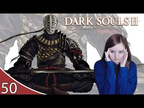 ANGRY SIR ALONNE BOSS   Dark Souls 2 Gameplay Walkthrough Part 50