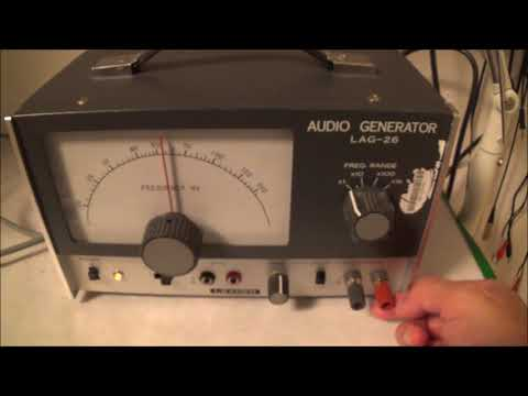 LEADER LAG-26 Audio Generator