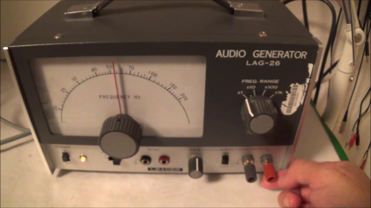 Leader Lag 26 Audio Generator Youtube