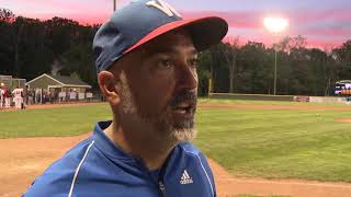 Art Peluso post-game interview
