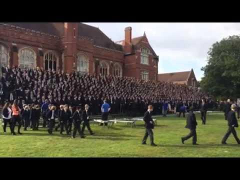 Bedford School whole-school photo 2014