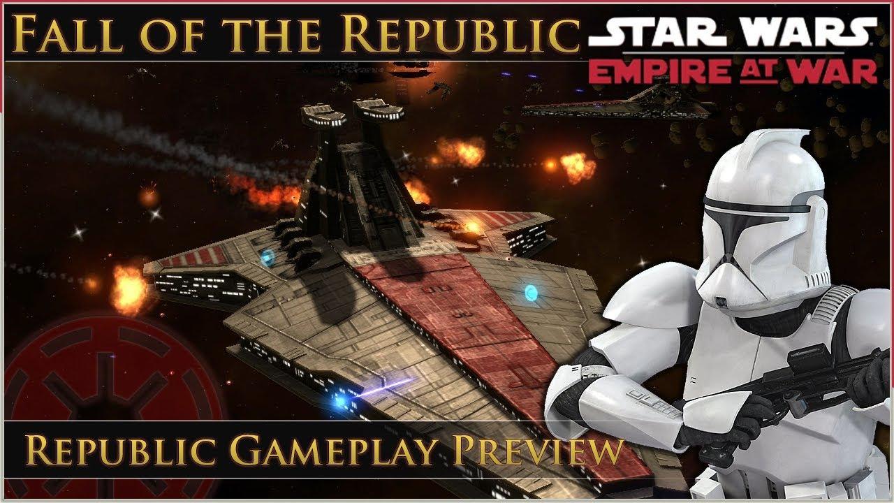 Begun, the Clone War Has - Early Republic Video PReview news - Fall
