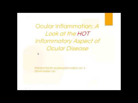 Live webinar - Optometric CE Sunday 10/30