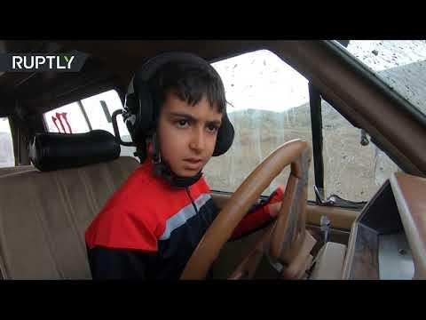 Grandpa taught me: 9yo driver showcases his off-road skills