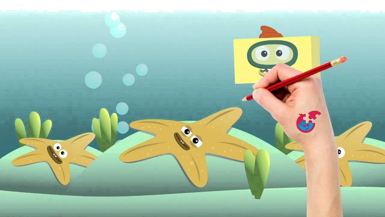Drawing And Coloring Big Block Sing Song For Toddlers - Underwater ...