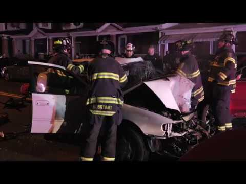 Head-on Serious Crash in Allentown, PA 02/26/18