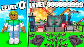 I BUILT A LEVEL 999,999,999 ROBLOX MILITARY TYCOON