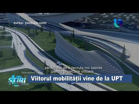 TeleU: Viitorul mobilității vine de la UPT
