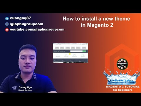 How to Install a new theme in Magento 2