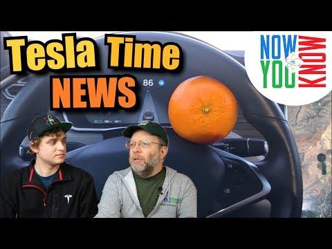 Tesla Time News - Orange You Glad It