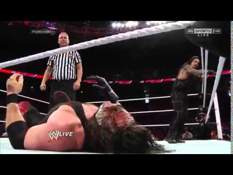 Kane vs Roman Reigns  Last  Man Standing ...