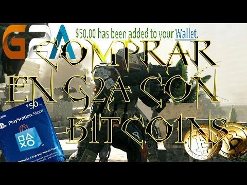 COMO COMPRAR EN G2A CON BITCOINS (PSN CARD, STEAM KEYS, Etc.)