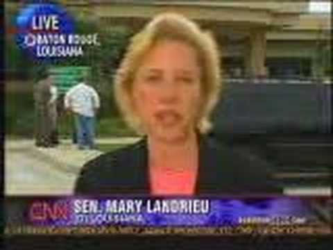 Anderson Cooper interview with Senator Mary Landrieu