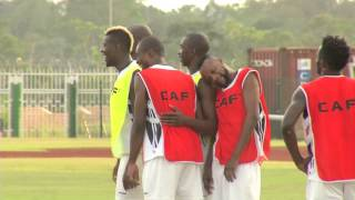 Dr Congo - Training Session  31/01  - Orange Africa Cup Of Nations, Equatorial G