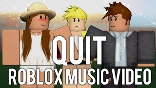 Quit- Cashmere Cat ft. Ariana Grande(ROBLOX Music Video) Bully Story Part 1