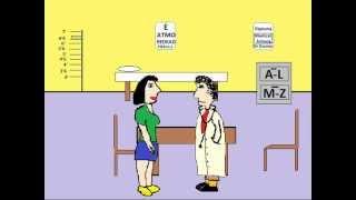 Komik Çizgi Film: Doktor Doktor Şakası