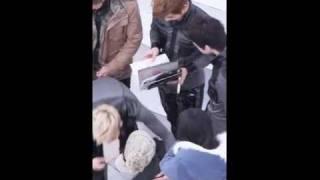 [THE G.O] 0129 영등포팬사인회 몸 아픈 친구를 위해 내려와서 사인하는 MBLAQ