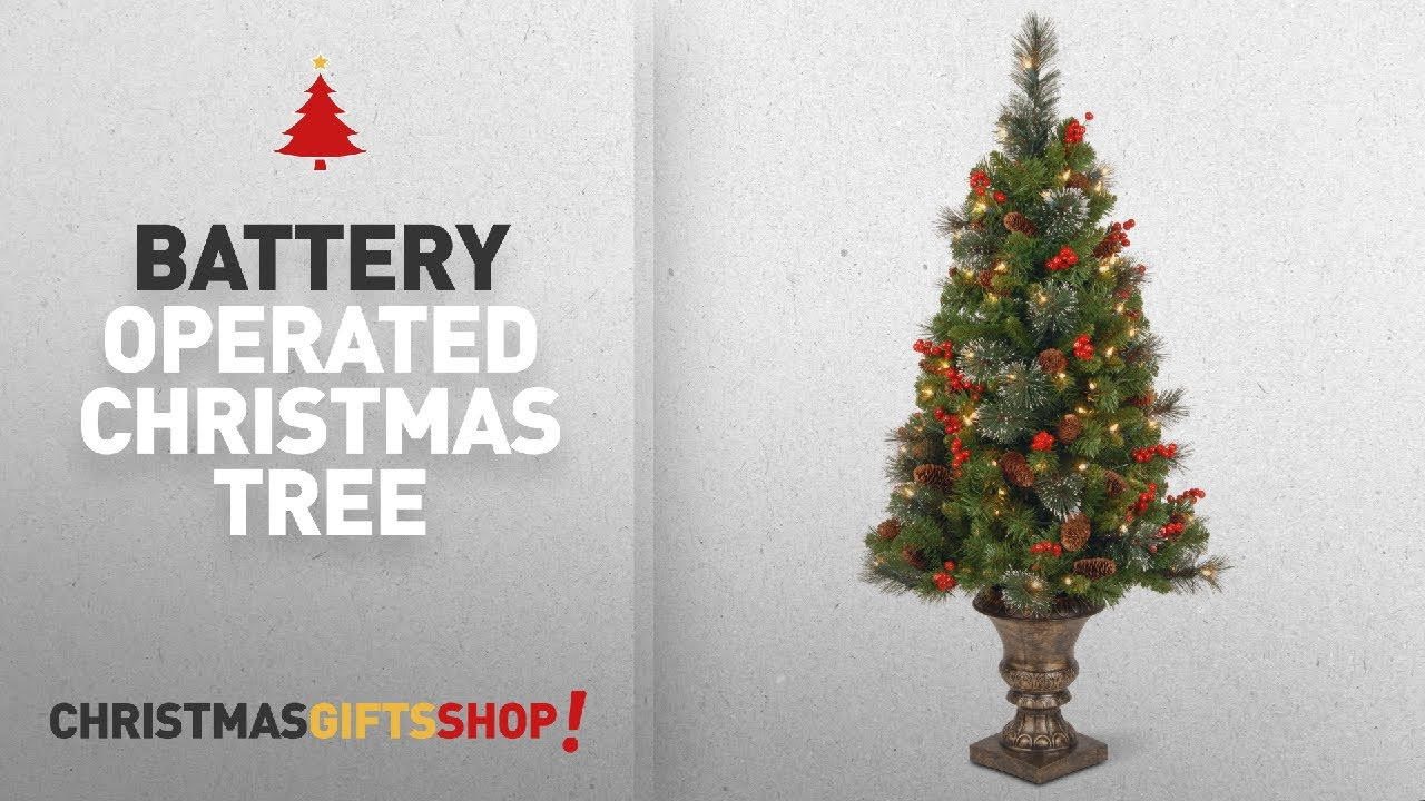 Most Popular Battery Operated Christmas Tree: National