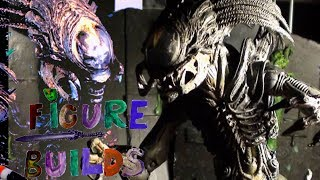 Figure Builds - Predalien Custom Figure (From AVP: Requiem)