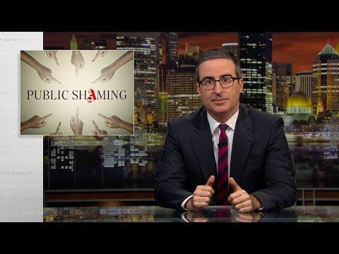 Смотреть Public Shaming: Last Week Tonight with John Oliver (HBO) онлайн