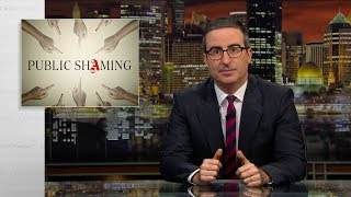 Смотреть Public Shaming: Last Week Tonight with John Oliver (HBO) онлайн