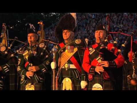 The Massed Pipes & Drums - Edinburgh Military Tattoo 2012