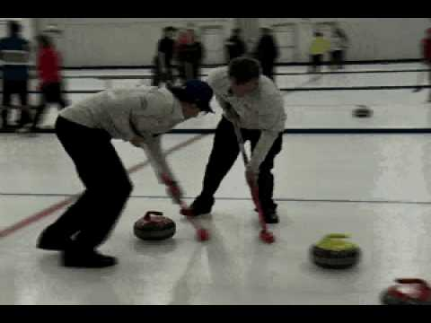 Olympic Curling Team Visits Lake Superior College