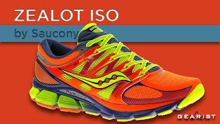 SAUCONY ZEALOT ISO RUNNING SHOE REVIEW - Gearist