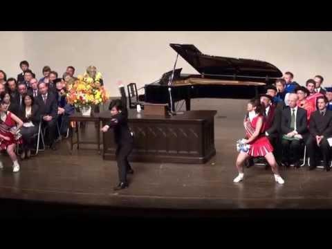 2013年度 早稲田大学国際教養学部 卒業式 応援部パフォーマンス