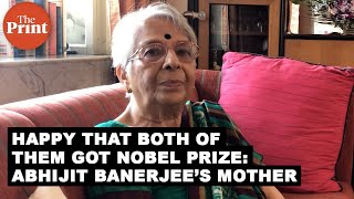 Happy that both of them got Nobel Prize: Abhijit Banerjee's mother
