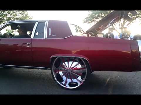 Texas Relays 2011 Cadillac on 30s - YouTube