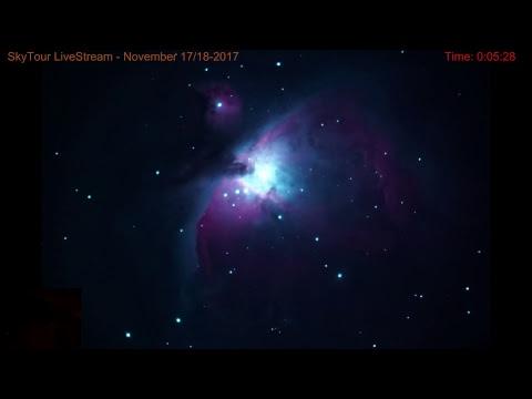 SkyTour LiveStream 11-17/18-2017 Can advanced alien life be here on Earth?