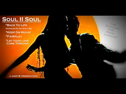 Soul II Soul:  in London!  Worlds Top NeoSoul Dance BandSound System