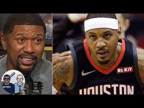 Jalen Rose on Carmelo Anthony's future, Warriors utilizing Klay Thompson   Jalen & Jacoby