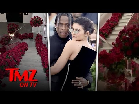 Kylie Jenner Comes Home to Find Her House Filled with Red Roses | TMZ TV Mp3