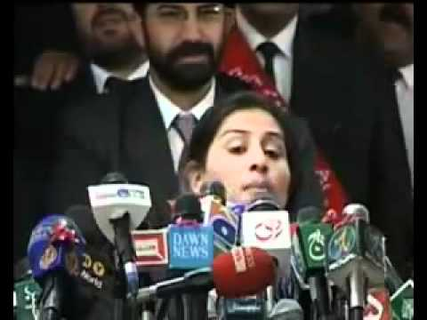 Pakistan Brave Lady Lawyer