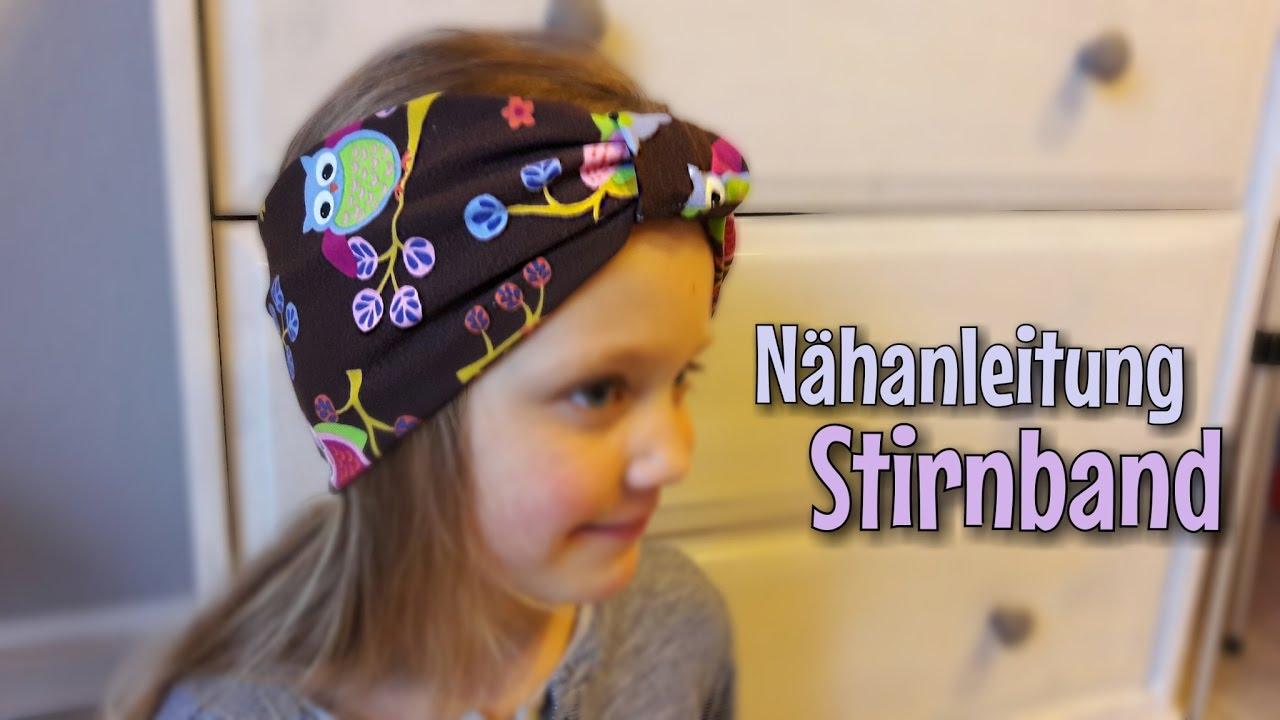 Stirnband Nähanleitung Ohne Schnittmuster Nähtinchen Youtube