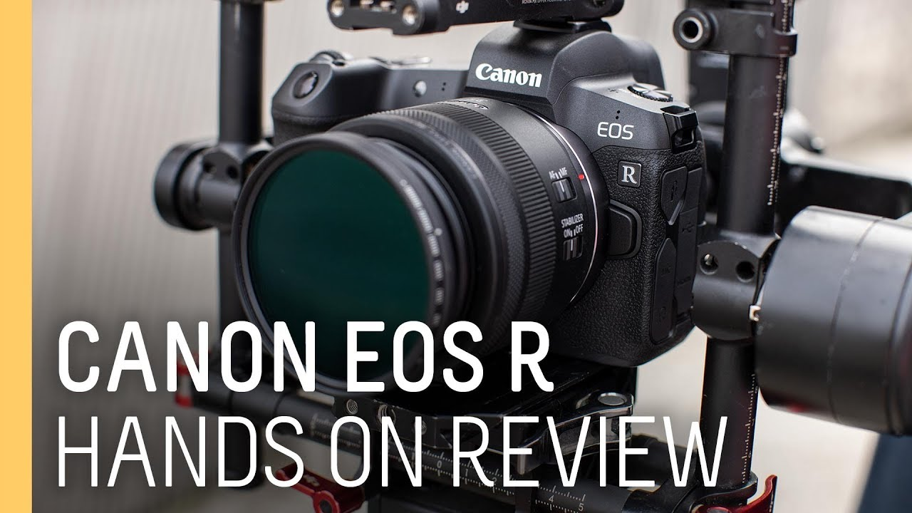 Canon Eos R New Mirror Less Camera Hands On Review Youtube
